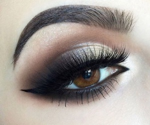 beauty, makeup, and eyes image