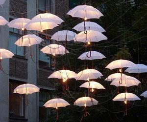 umbrella and light image