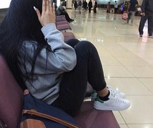 girl, style, and adidas image