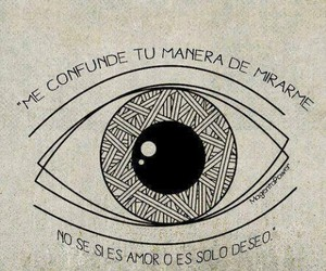 desire, frases, and eye image