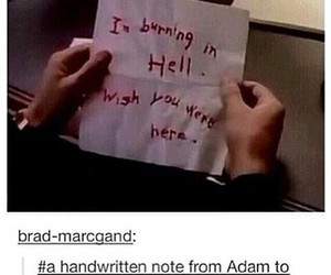 supernatural, hell, and funny image