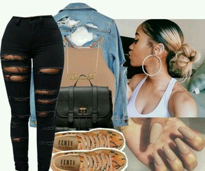 Polyvore and @eazybreezy305 image