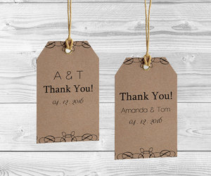 etsy, thank you tags, and tags template image