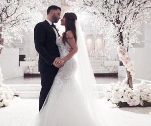 couple, Relationship, and wedding image