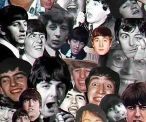 george harrison, john lennon, and Paul McCartney image