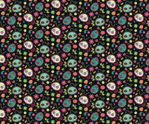 background, colors, and dia de los muertos image