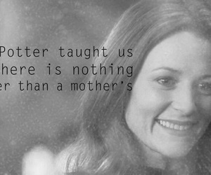 harry potter, lily potter, and mothers love image
