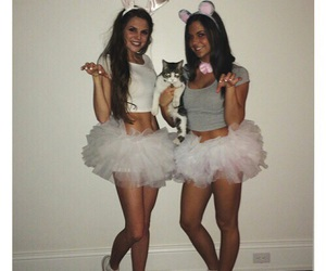Halloween, best friends, and costume image