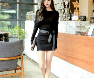 asian fashion, dress, and fall fashion image