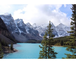 blue, canada, and lake image