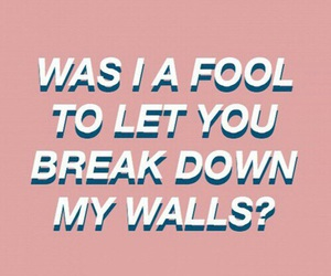 break, fool, and Lyrics image