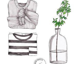 draw, illustration, and art image
