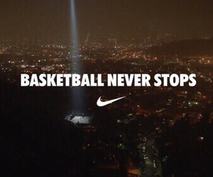 Basketball, nike, and never image