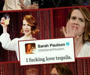 tequila, sarah paulson, and ahs image