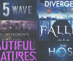 fallen, the mortal instrument, and divirgent image