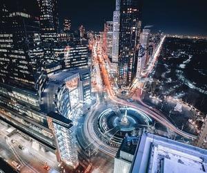 city, columbus circle, and new york image