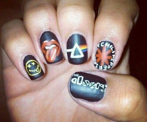 nails, nirvana, and Pink Floyd image