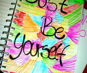 be, just, and yourself image