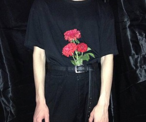 grunge, black, and aesthetic image
