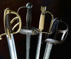fight, renaissance, and swords image