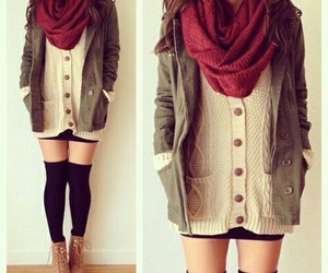 clothes, comfy, and fall image