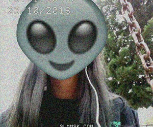 alien, pratty, and cute image