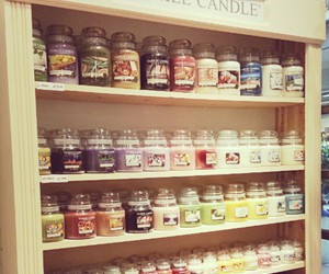 yankee candle, candle, and rosy image