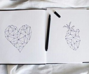 journal, notebook, and love image