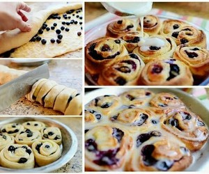 diy, food, and blueberry image