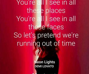 demi lovato, song, and Lyrics image