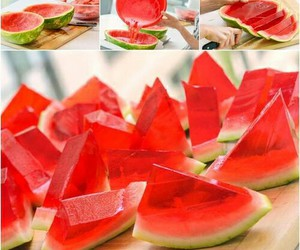 watermelon, diy, and food image