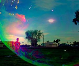 bubble, bubbles, and child image