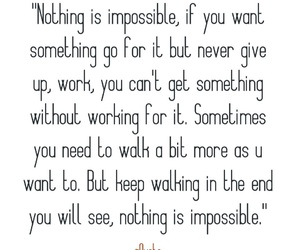 impossible, possible, and quote image