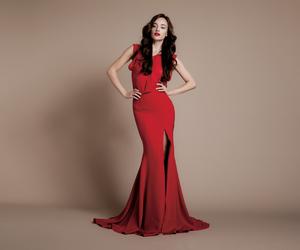 dress, red, and daalarna image