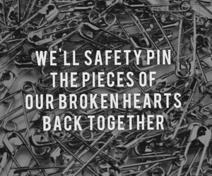 safety pin, 5sos, and Lyrics image