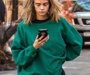 fashion, cara, and model image