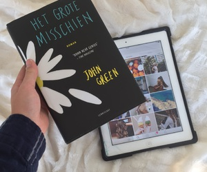 john green, love this book, and looking for alaska image