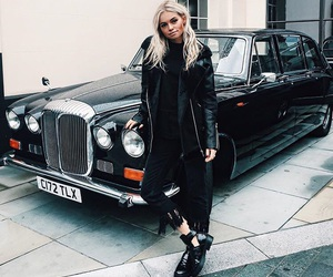 fashion, old car, and style image