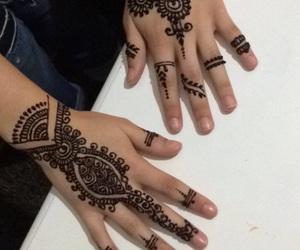 henna, tatouage, and maghreb image