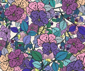 patterns, wallpapers, and flowers image