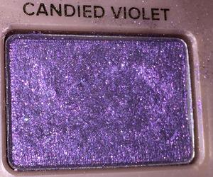purple, makeup, and violet image