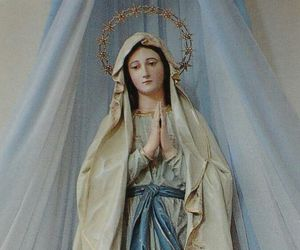 Virgin Mary and medjugorje image