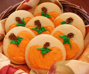 pumpkin, Cookies, and food image