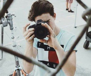 photoshoot, tommy hilfiger, and nash grier image