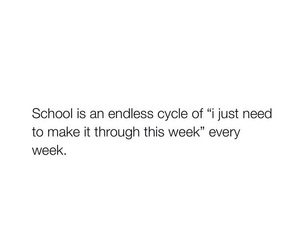 cycle, school, and week image