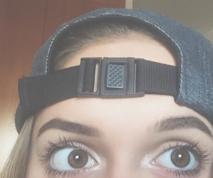 eyes, goals, and hat image