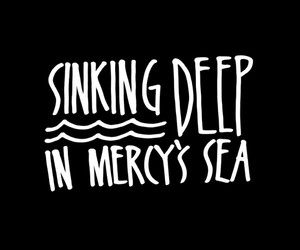 Hillsong, sea, and mercy image