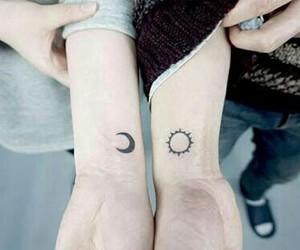 boy, tattoo, and girl image