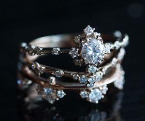 ring, beautiful, and diamond image