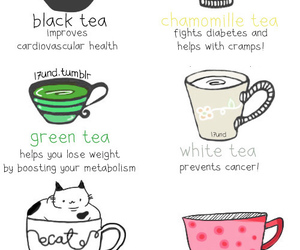 tea, cat, and healthy image